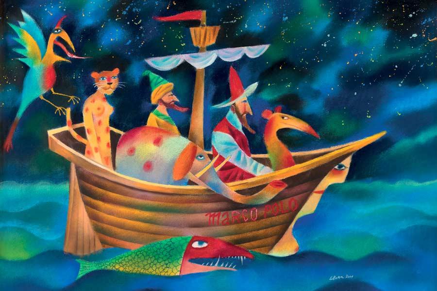 Marco Polo na cestách, 2001