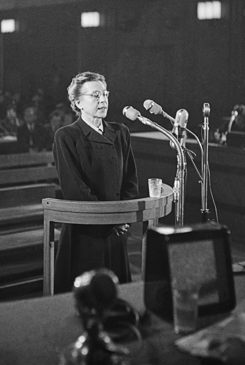 Milada HORÁKOVÁ, politièka, soud, politický proces